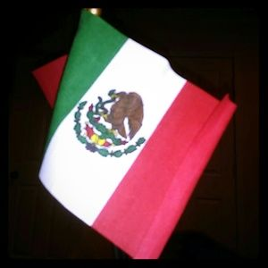 Other - 2 small Mexican flags